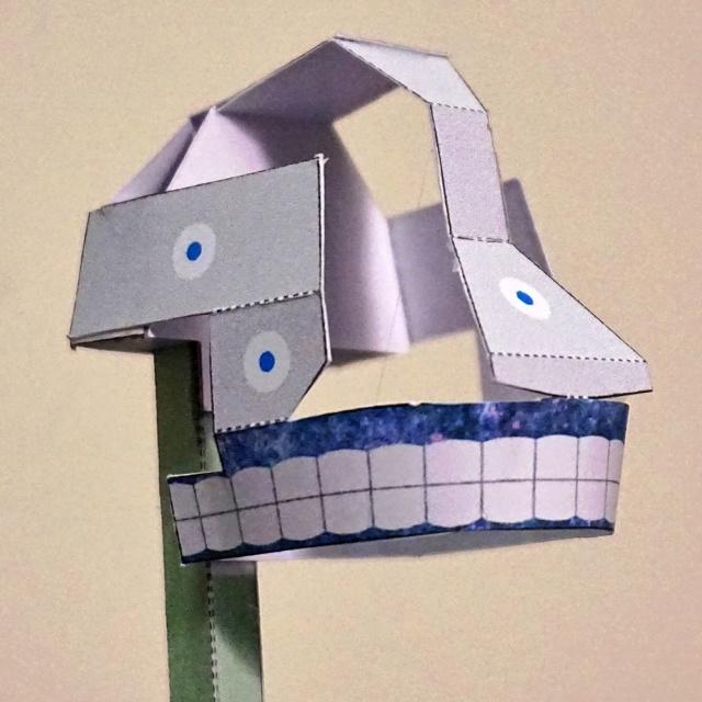 Blechtrommler aus Pappe Dsc02827