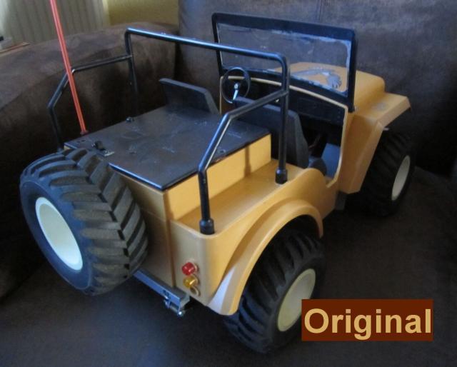 Veroma Jeep 1:8  Umbau J311