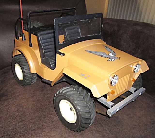 Veroma Jeep 1:8  Umbau J410