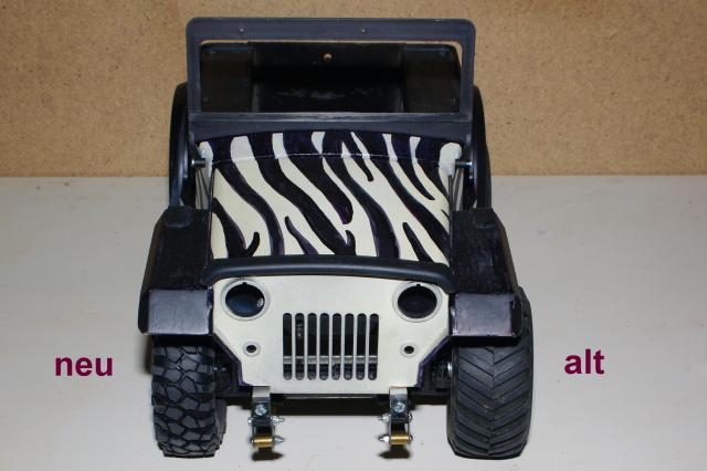 Veroma Jeep 1:8  Umbau J610