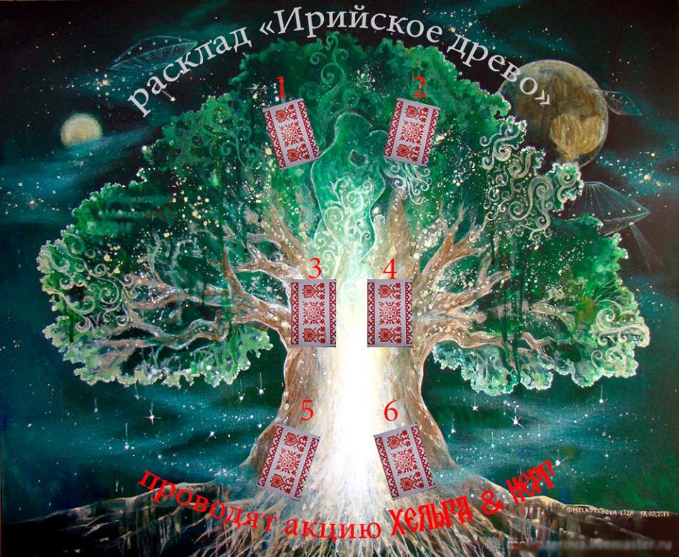 """Акция! Расклад """"Ирийское древо"""" на Кощунах, правду глаголящих (Ж. Божеславны) 69835710"""