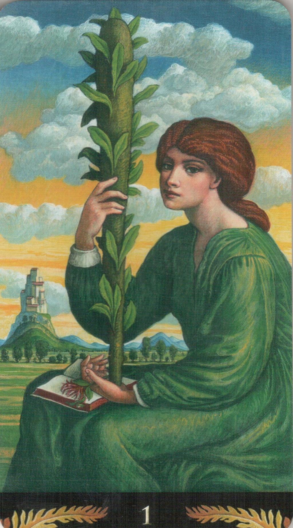 Таро Прерафаэлитов (Pre-Raphaelite Tarot) Галерея Aa12