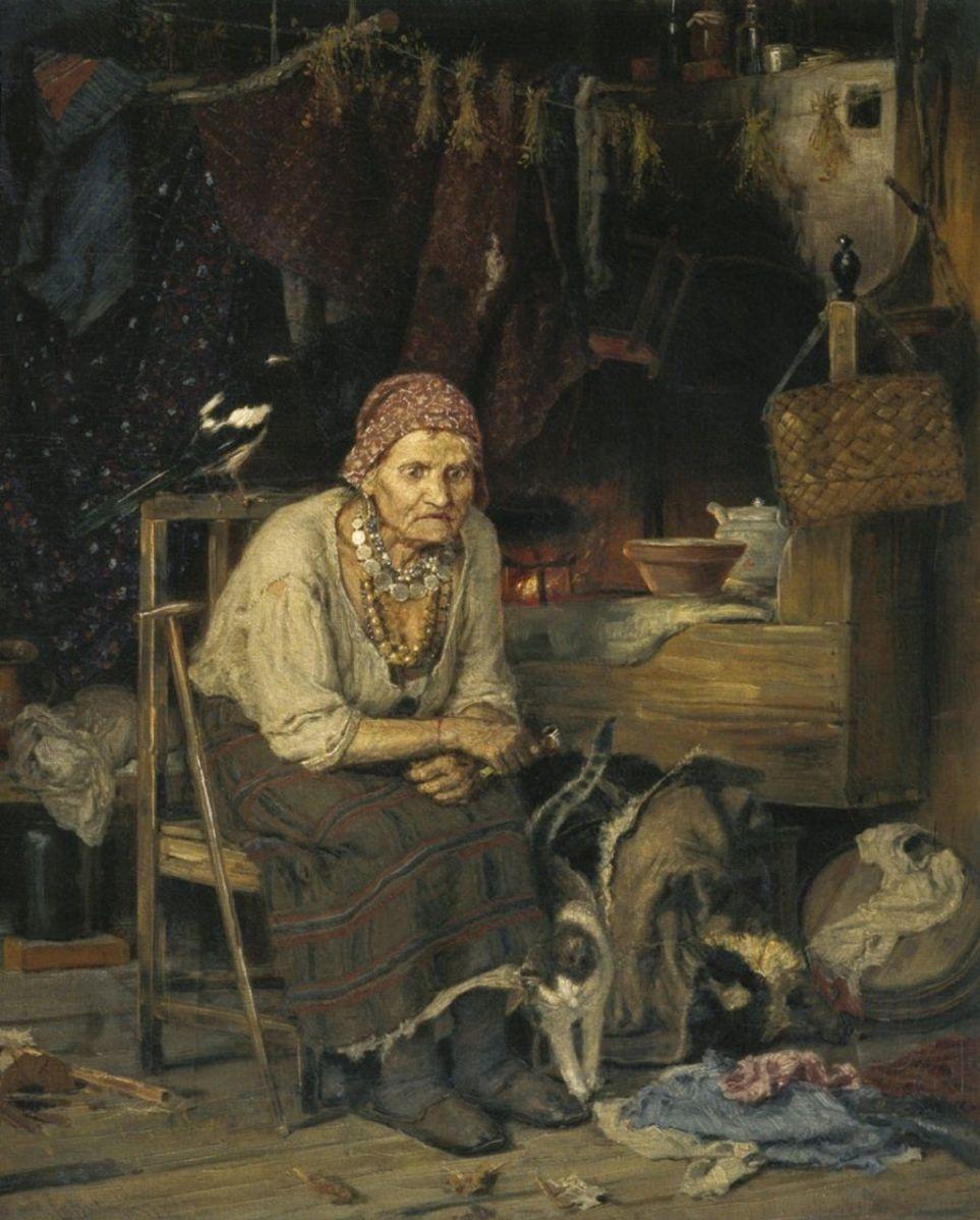 Константин Савицкий, «С нечистым знается», 1879 год Rdtvc010