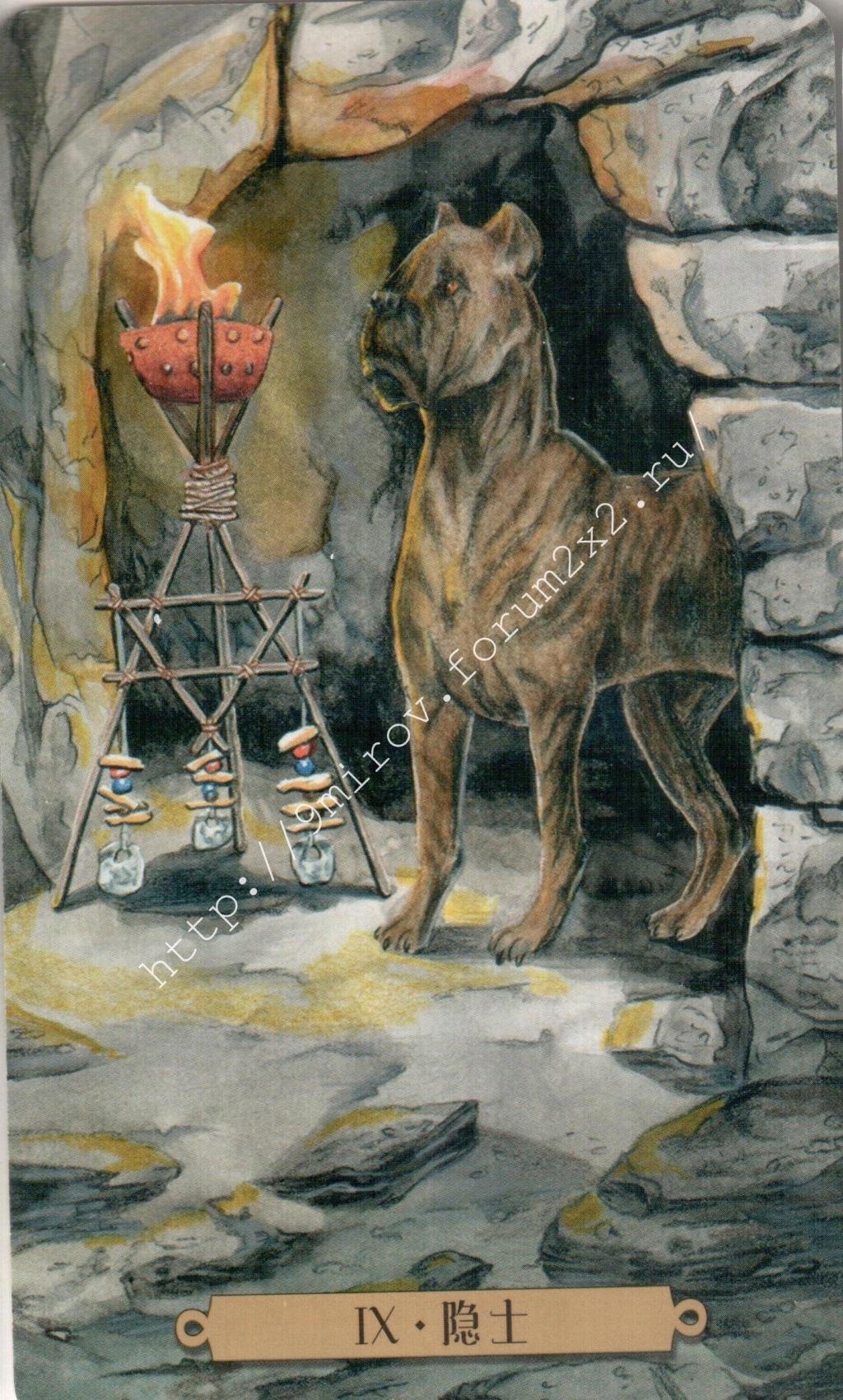 Таро мистических собак. Галерея. (китайская версия) Water182