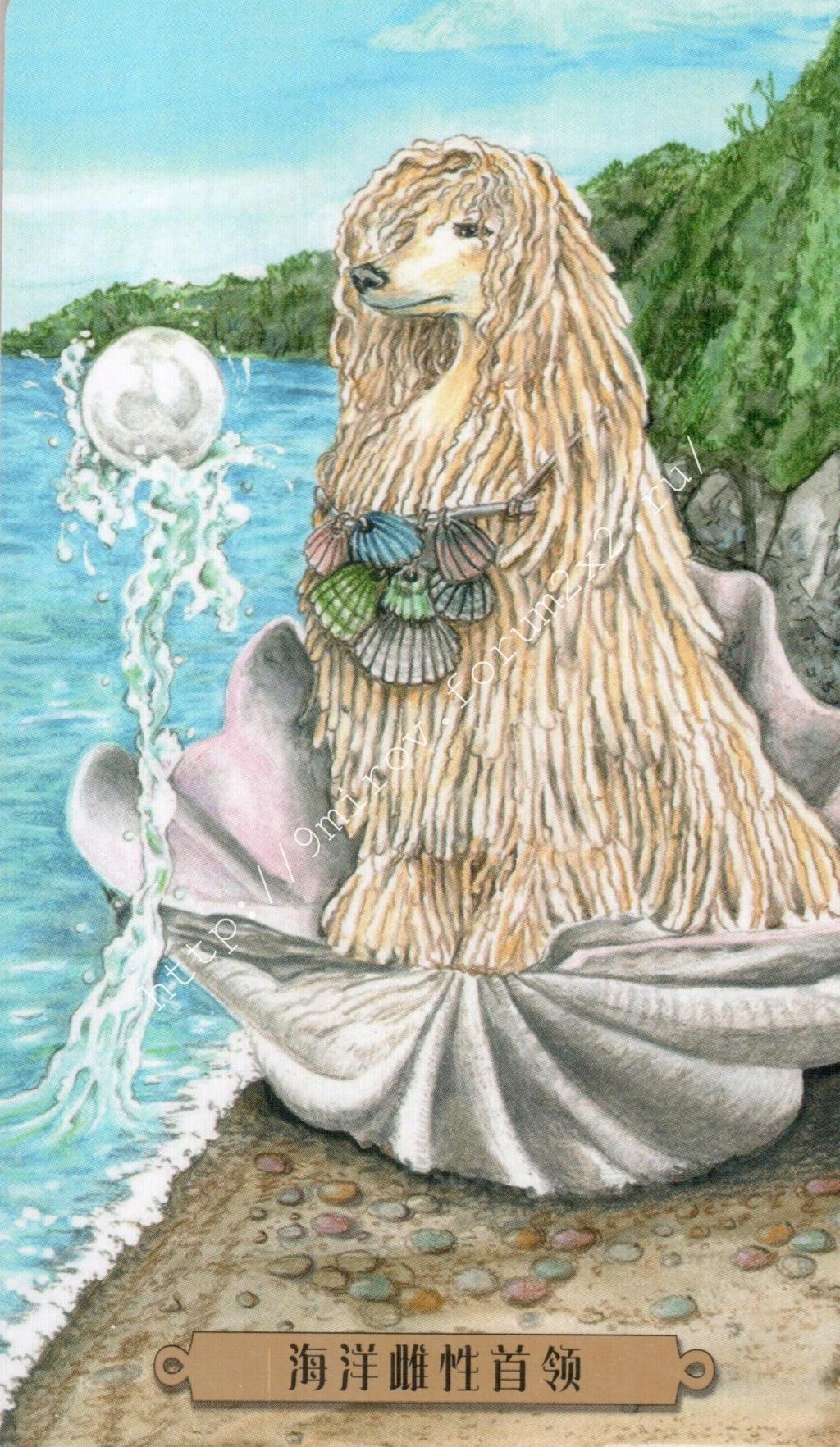 Таро мистических собак. Галерея. (китайская версия) Water221