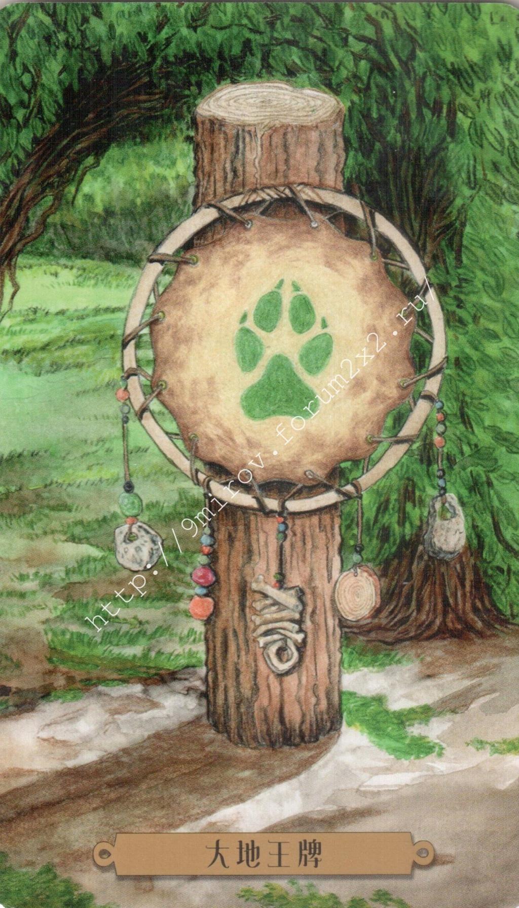 Таро мистических собак. Галерея. (китайская версия) Water223