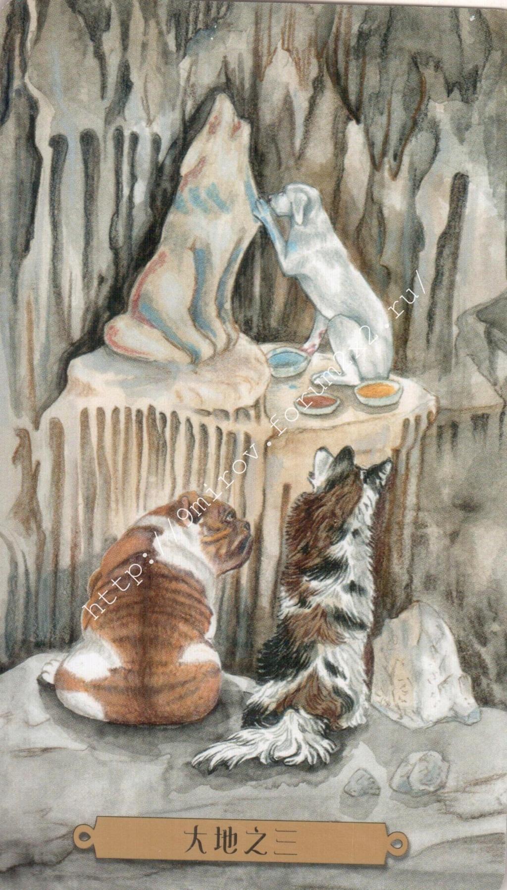 Таро мистических собак. Галерея. (китайская версия) Water225