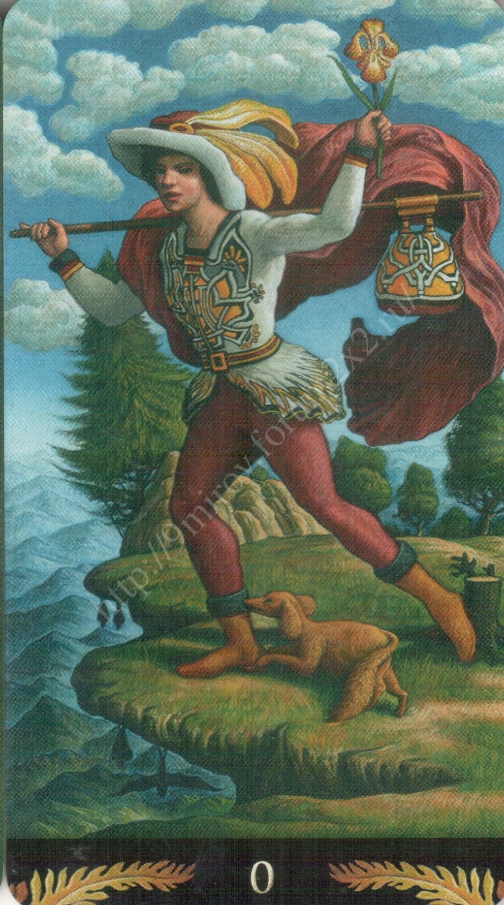 Таро Прерафаэлитов (Pre-Raphaelite Tarot) Галерея Water364