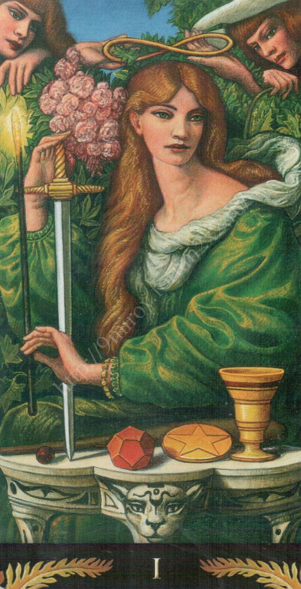 Таро Прерафаэлитов (Pre-Raphaelite Tarot) Галерея Water365