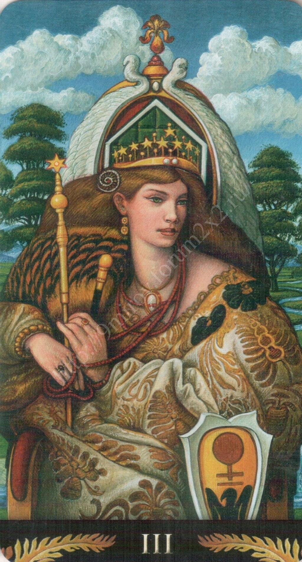 Таро Прерафаэлитов (Pre-Raphaelite Tarot) Галерея Water368