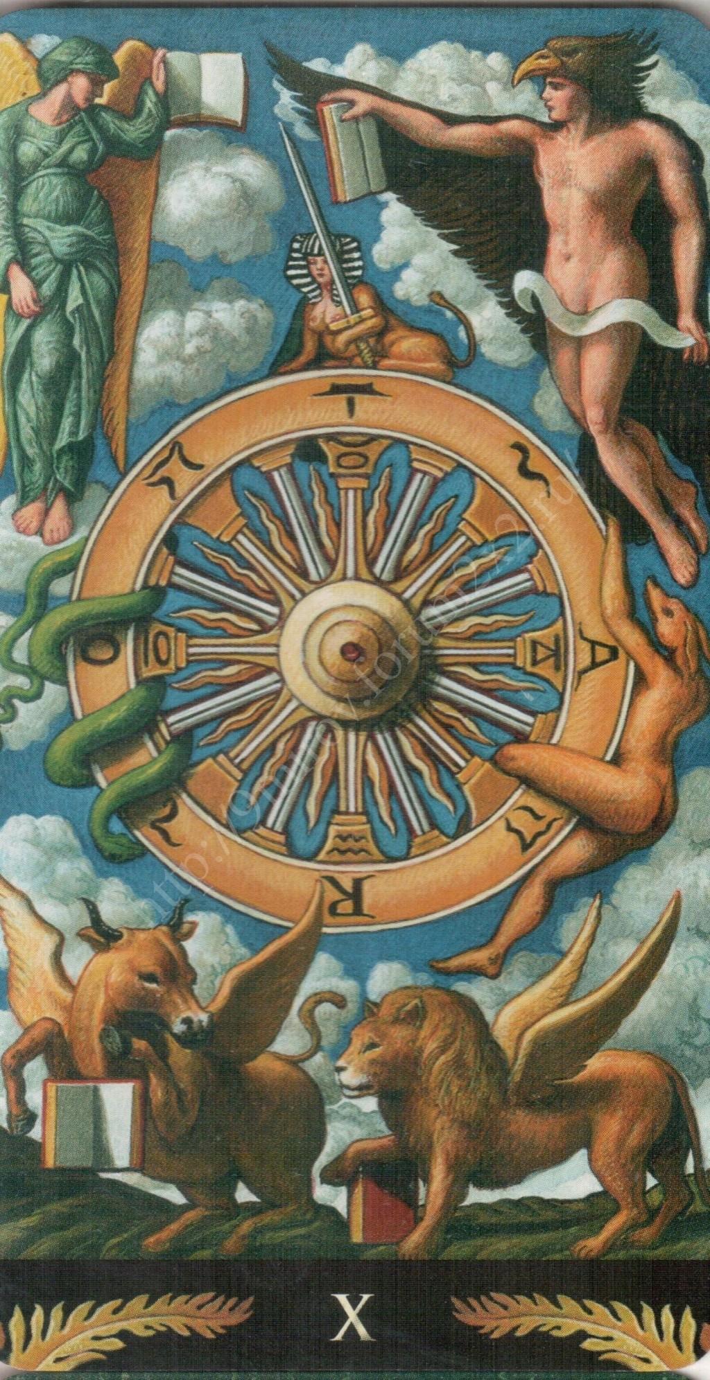 Таро Прерафаэлитов (Pre-Raphaelite Tarot) Галерея Water373