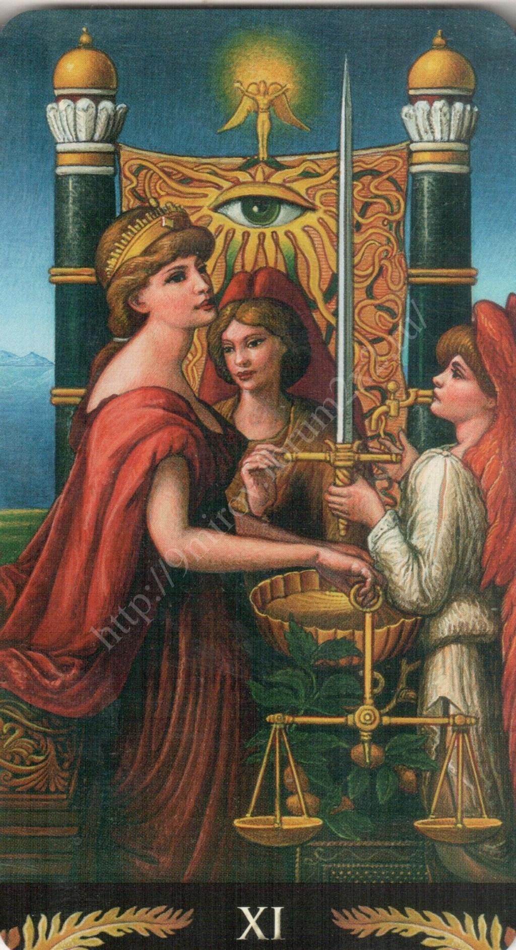 Таро Прерафаэлитов (Pre-Raphaelite Tarot) Галерея Water374