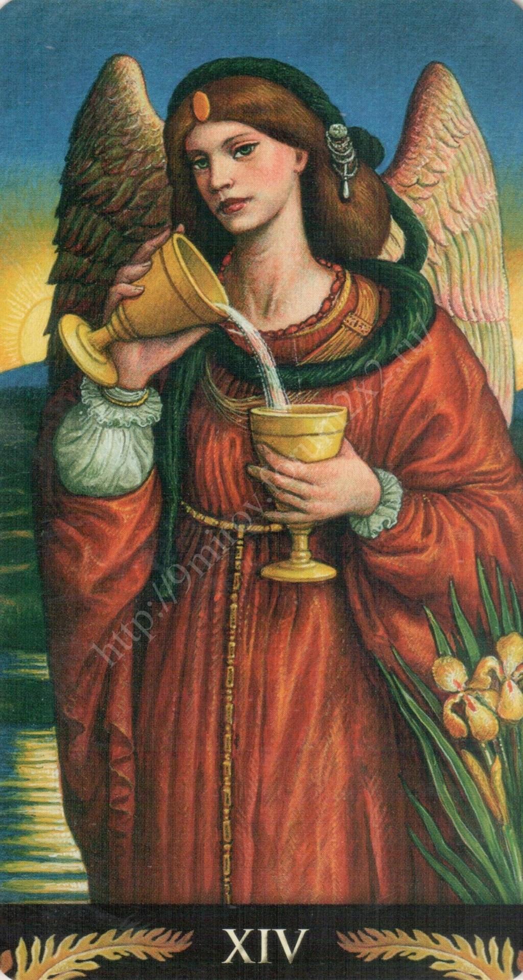 Таро Прерафаэлитов (Pre-Raphaelite Tarot) Галерея Water378