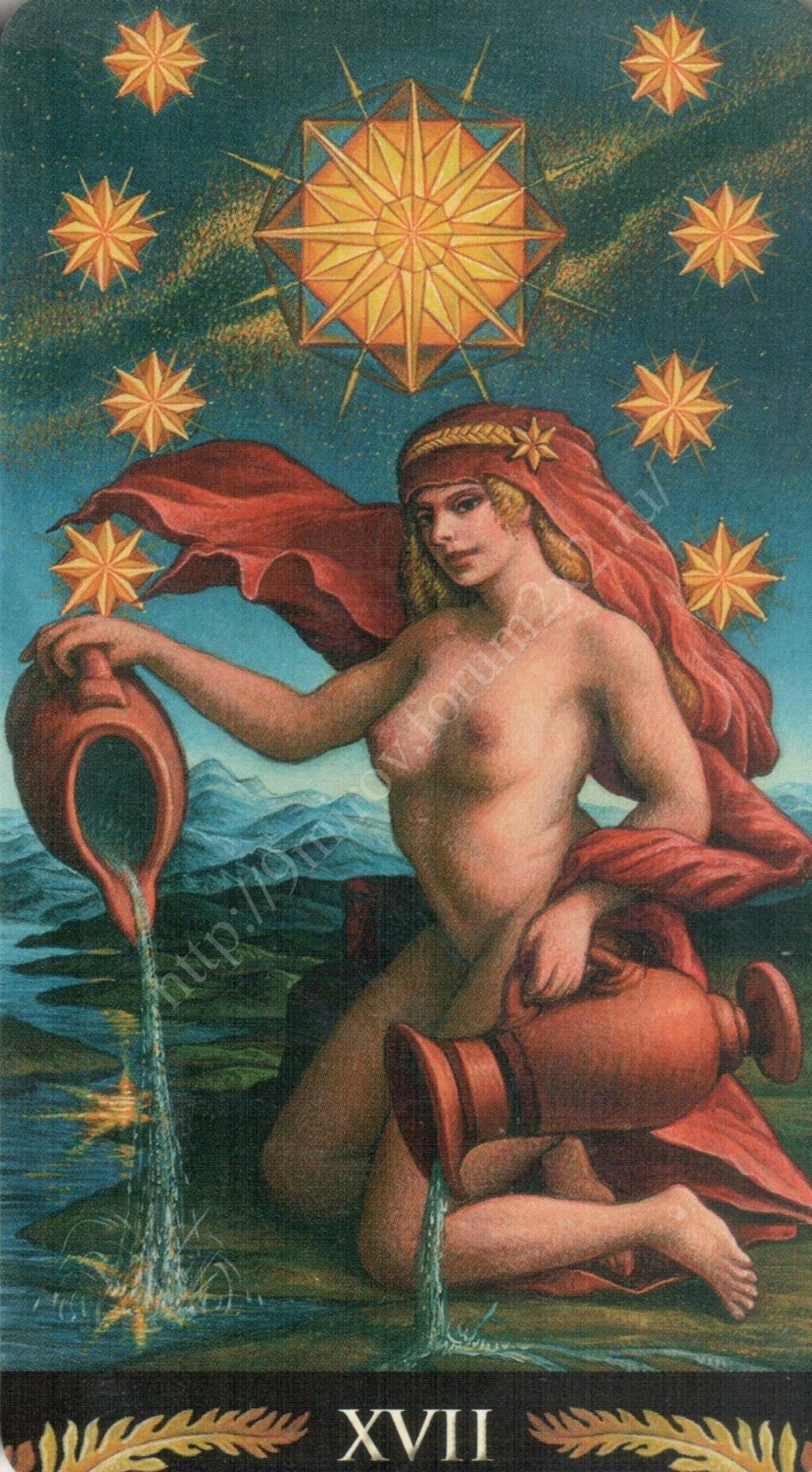 Таро Прерафаэлитов (Pre-Raphaelite Tarot) Галерея Water379