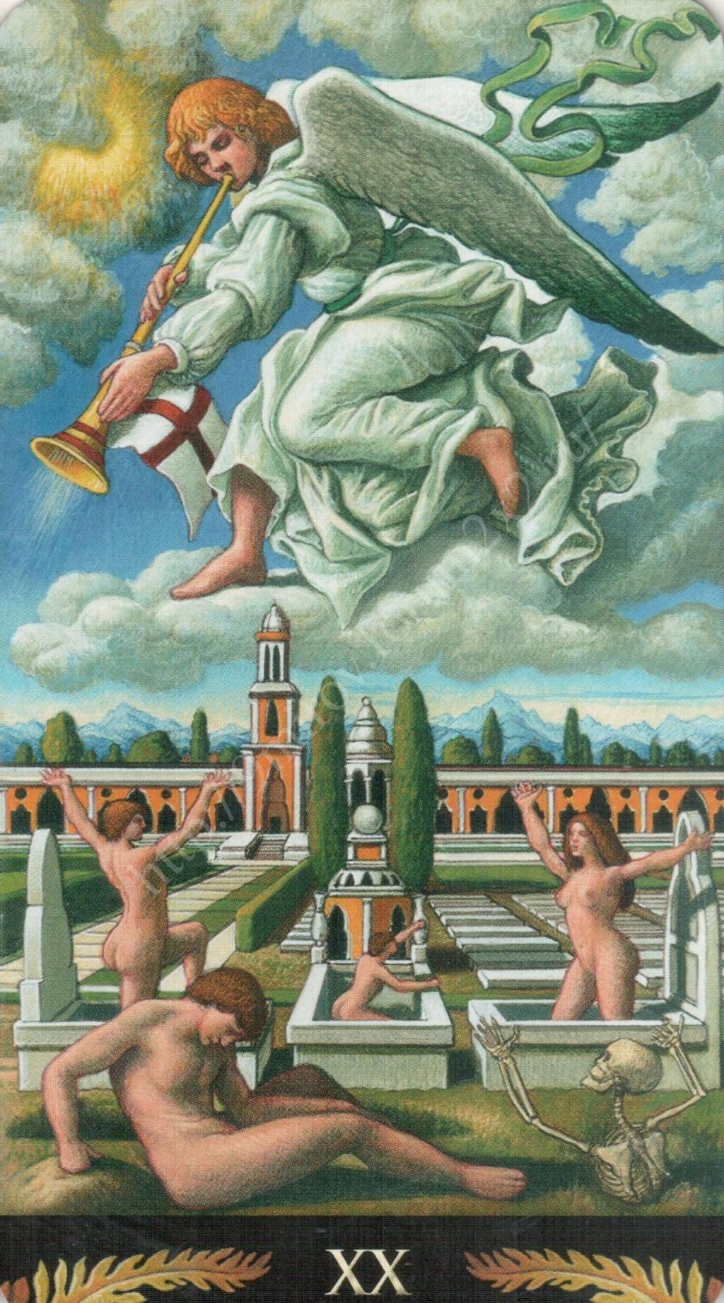 Таро Прерафаэлитов (Pre-Raphaelite Tarot) Галерея Water382