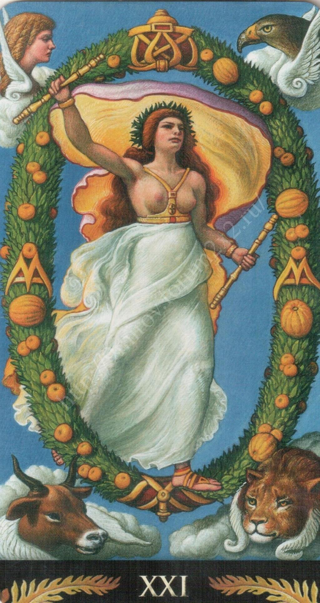 Таро Прерафаэлитов (Pre-Raphaelite Tarot) Галерея Water383