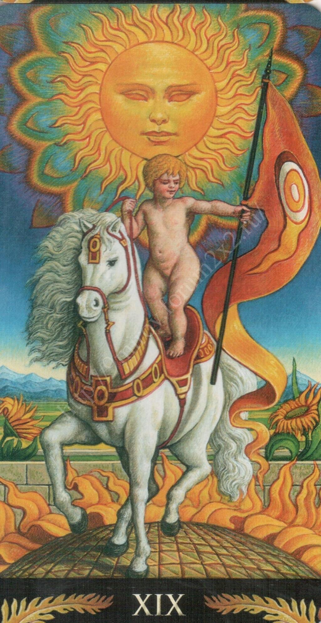 Таро Прерафаэлитов (Pre-Raphaelite Tarot) Галерея Water384