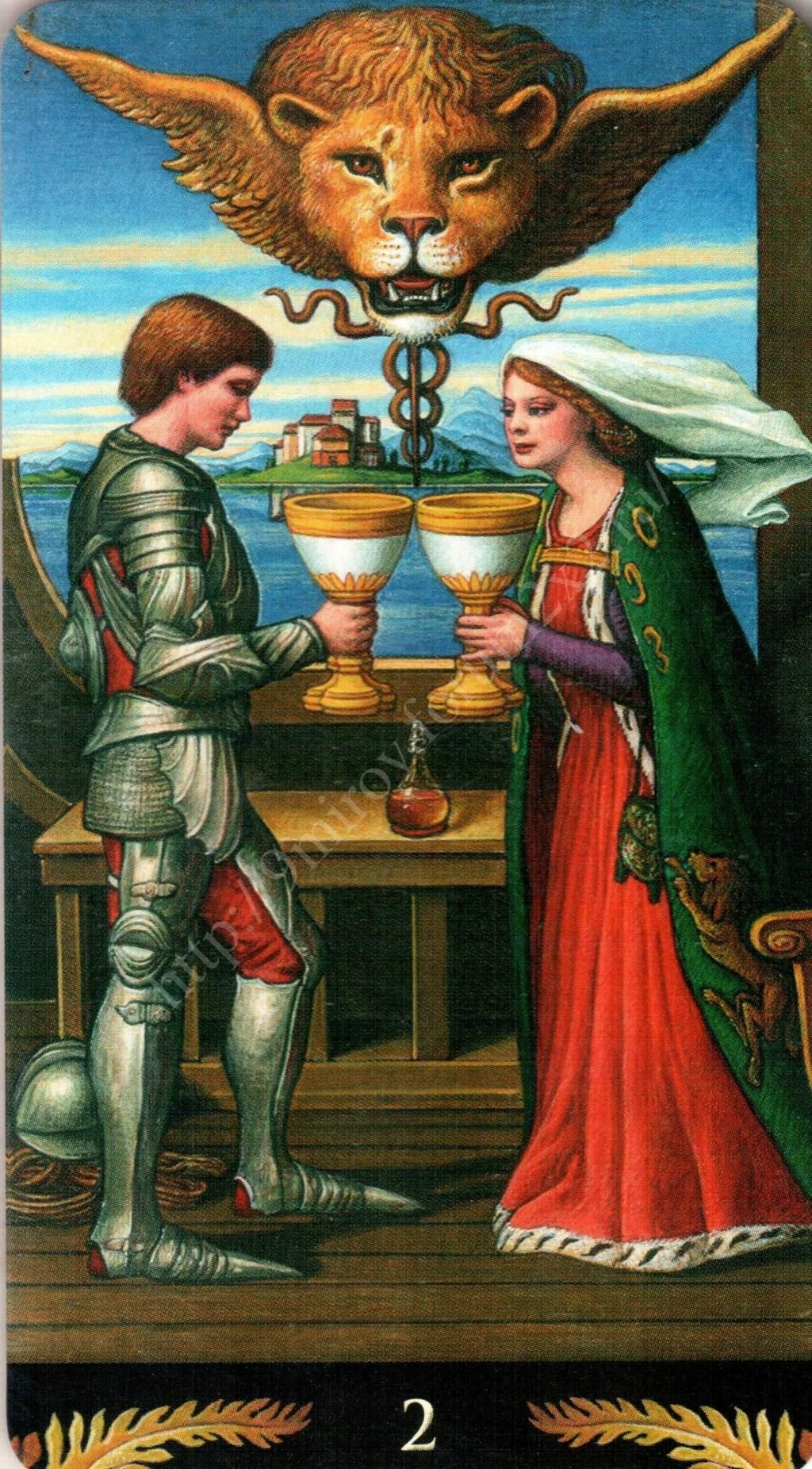 Таро Прерафаэлитов (Pre-Raphaelite Tarot) Галерея Water385