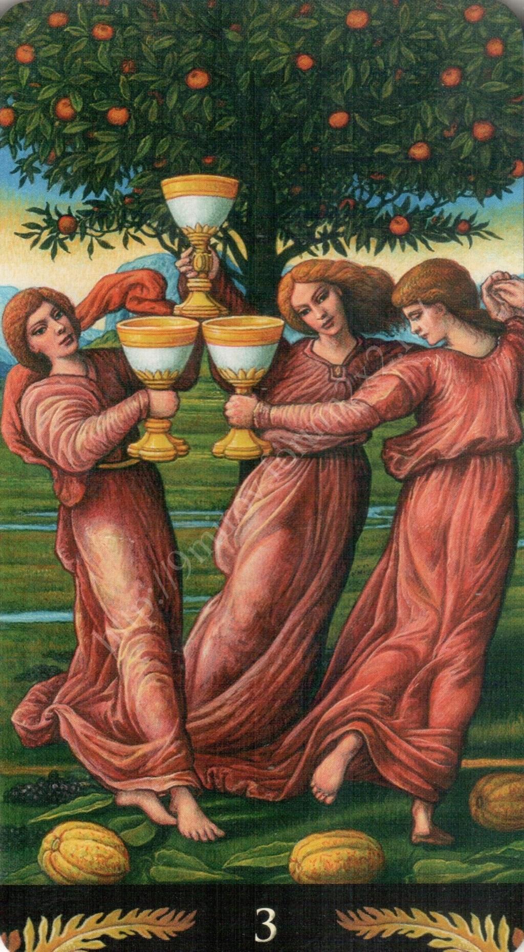 Таро Прерафаэлитов (Pre-Raphaelite Tarot) Галерея Water386