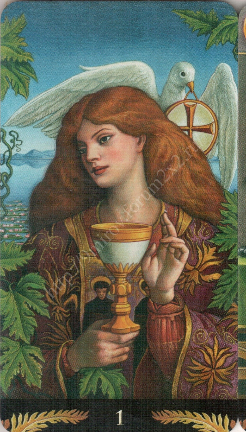 Таро Прерафаэлитов (Pre-Raphaelite Tarot) Галерея Water387