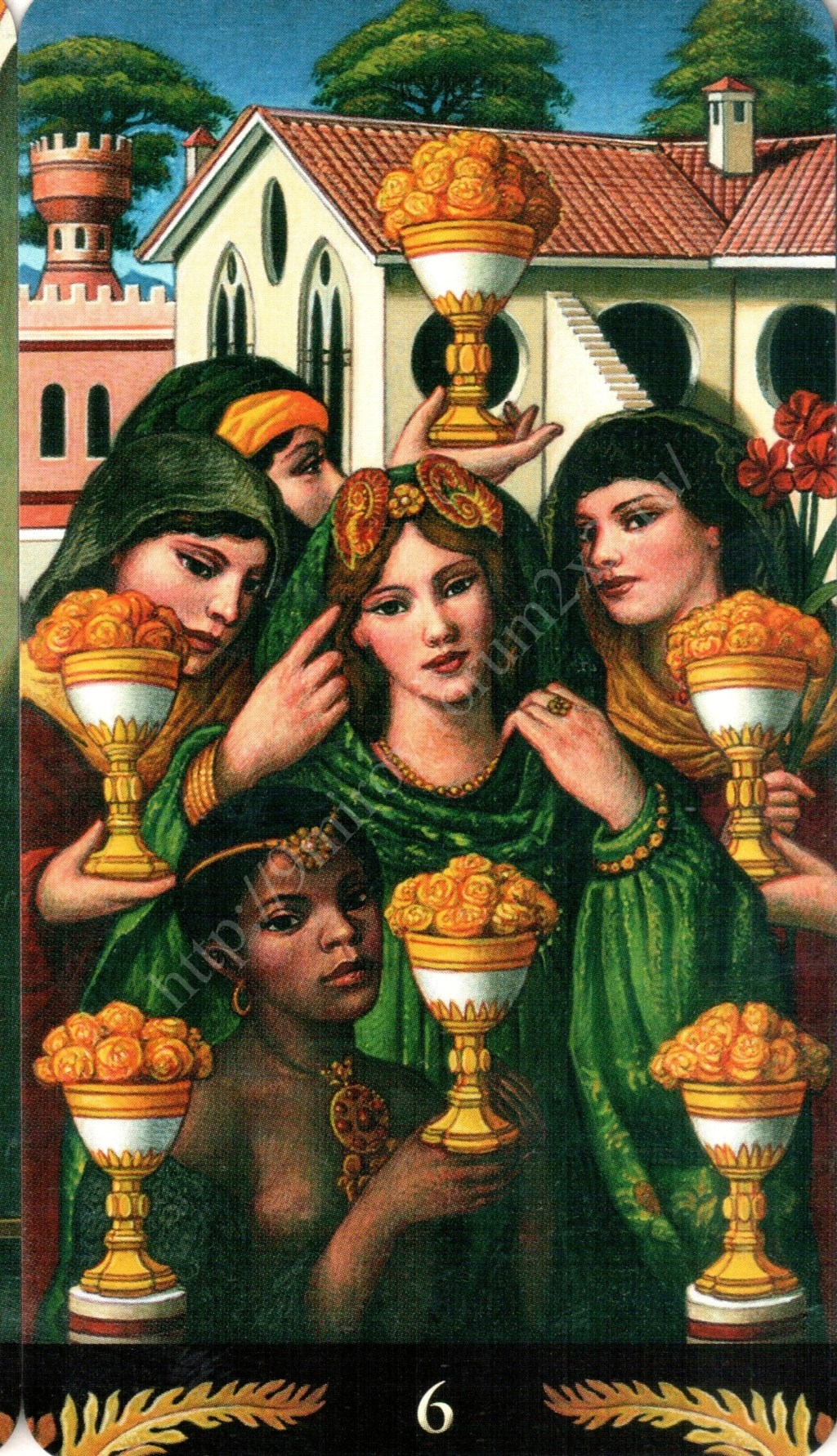 Таро Прерафаэлитов (Pre-Raphaelite Tarot) Галерея Water388
