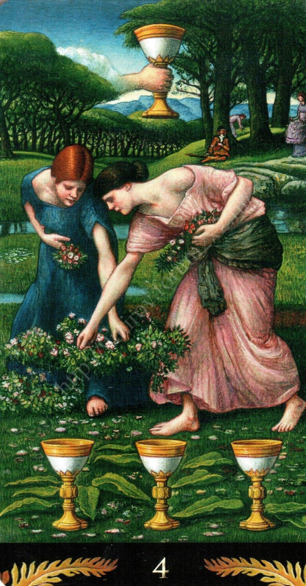 Таро Прерафаэлитов (Pre-Raphaelite Tarot) Галерея Water389