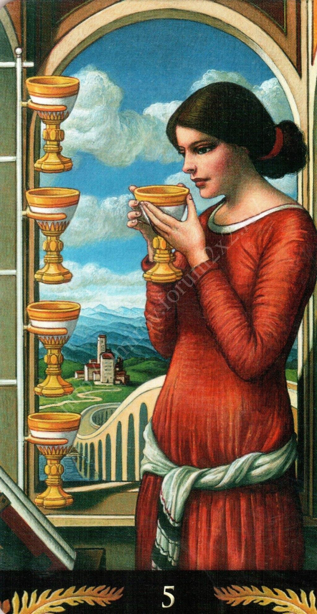 Таро Прерафаэлитов (Pre-Raphaelite Tarot) Галерея Water390