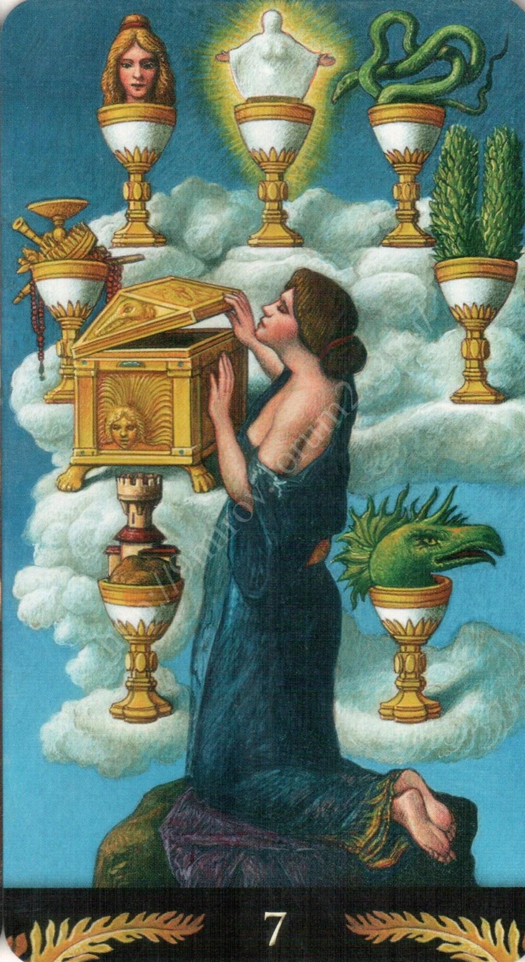 Таро Прерафаэлитов (Pre-Raphaelite Tarot) Галерея Water393