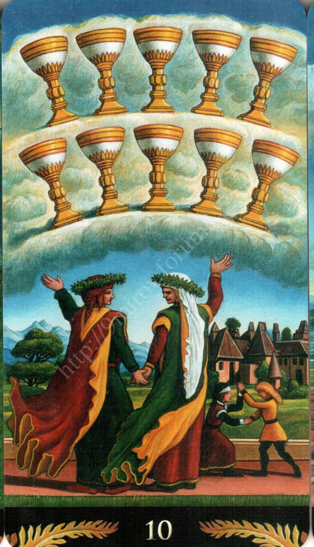 Таро Прерафаэлитов (Pre-Raphaelite Tarot) Галерея Water394