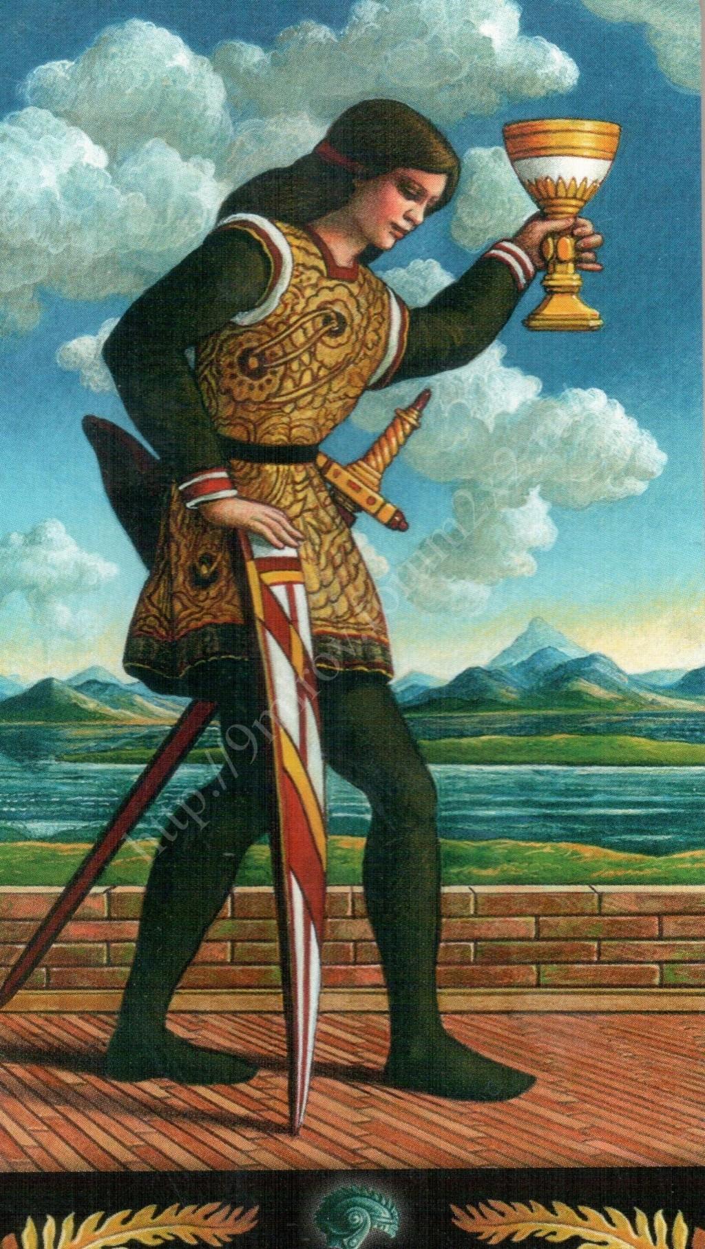 Таро Прерафаэлитов (Pre-Raphaelite Tarot) Галерея Water395