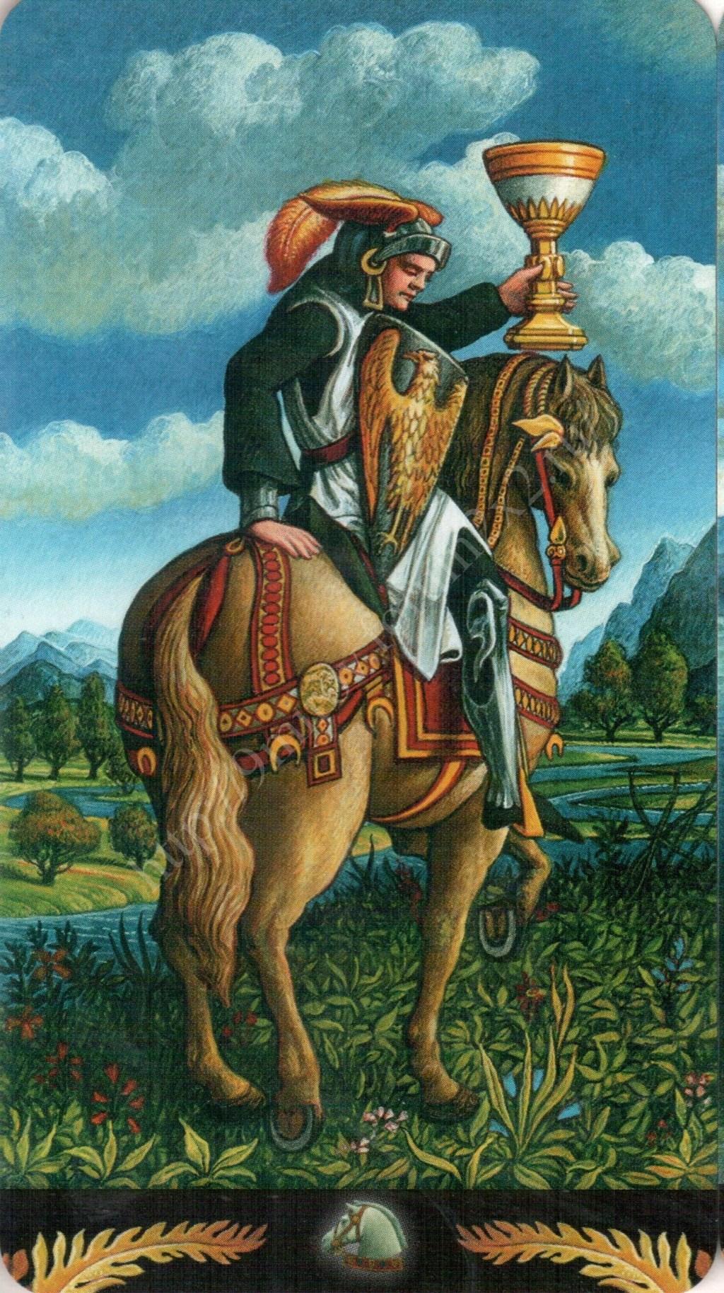 Таро Прерафаэлитов (Pre-Raphaelite Tarot) Галерея Water396