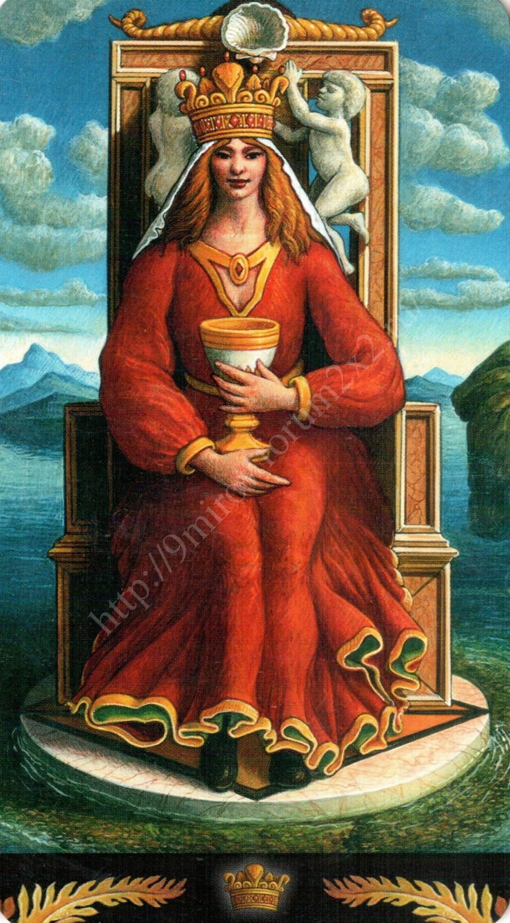 Таро Прерафаэлитов (Pre-Raphaelite Tarot) Галерея Water399