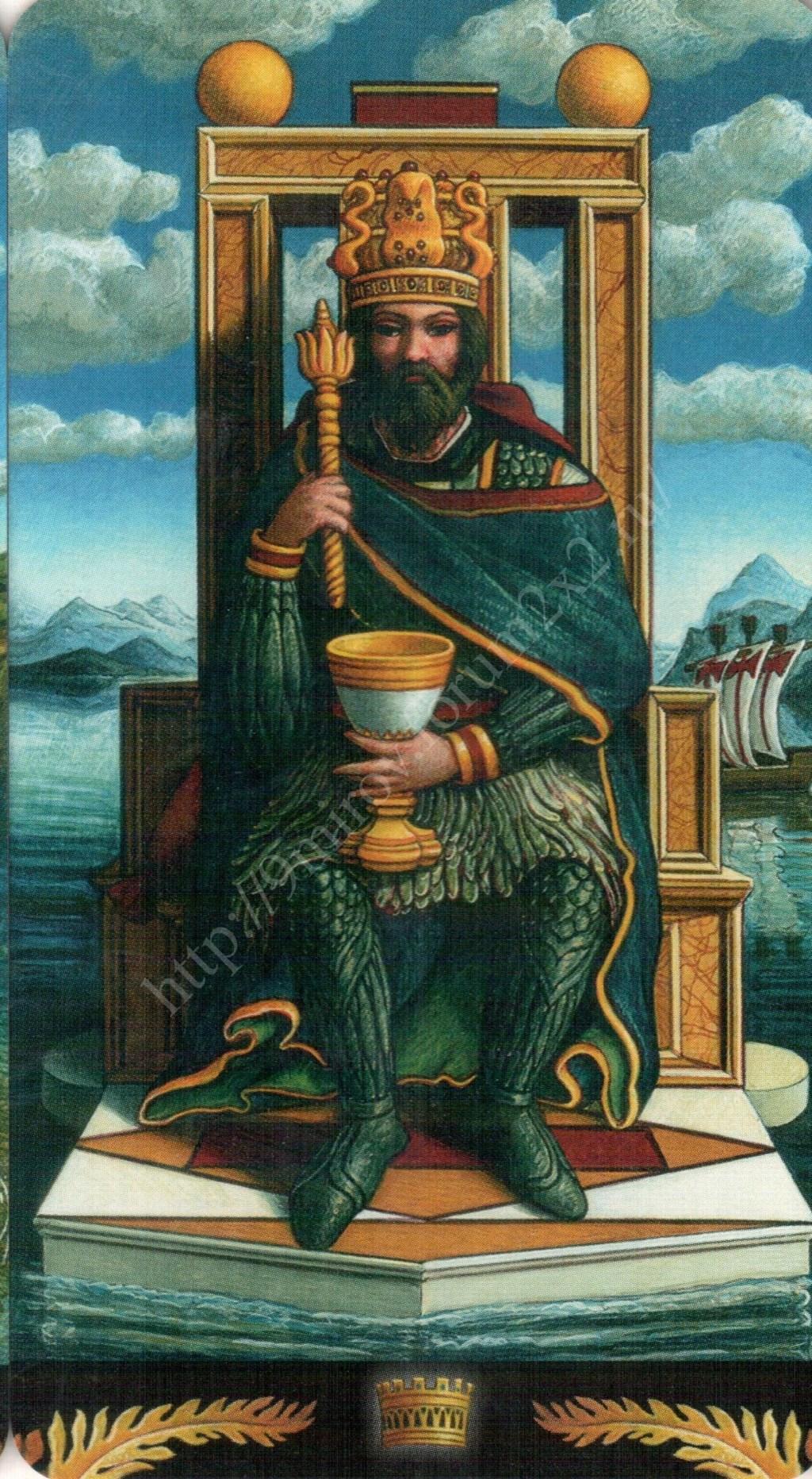 Таро Прерафаэлитов (Pre-Raphaelite Tarot) Галерея Water400