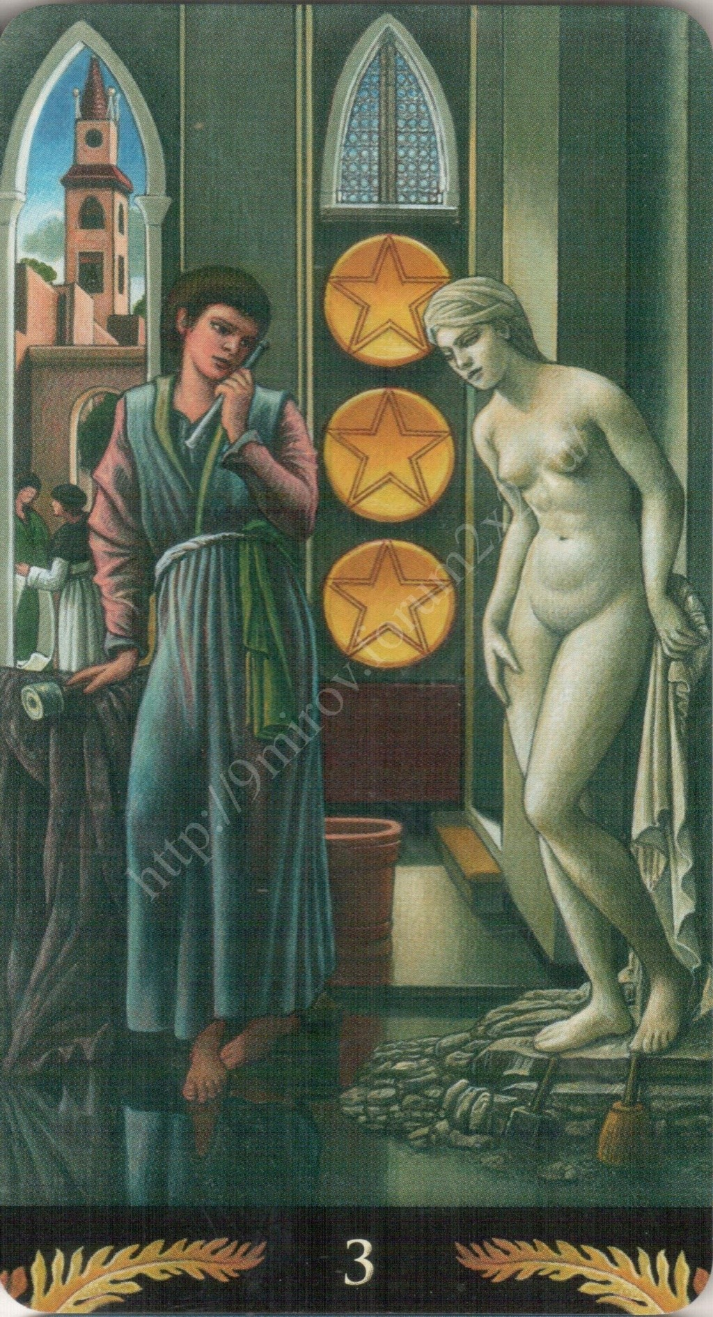 Таро Прерафаэлитов (Pre-Raphaelite Tarot) Галерея Water401