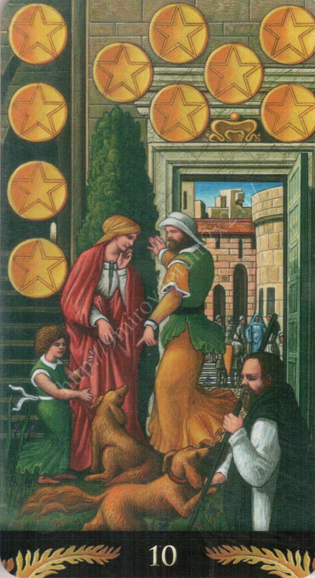 Таро Прерафаэлитов (Pre-Raphaelite Tarot) Галерея Water411