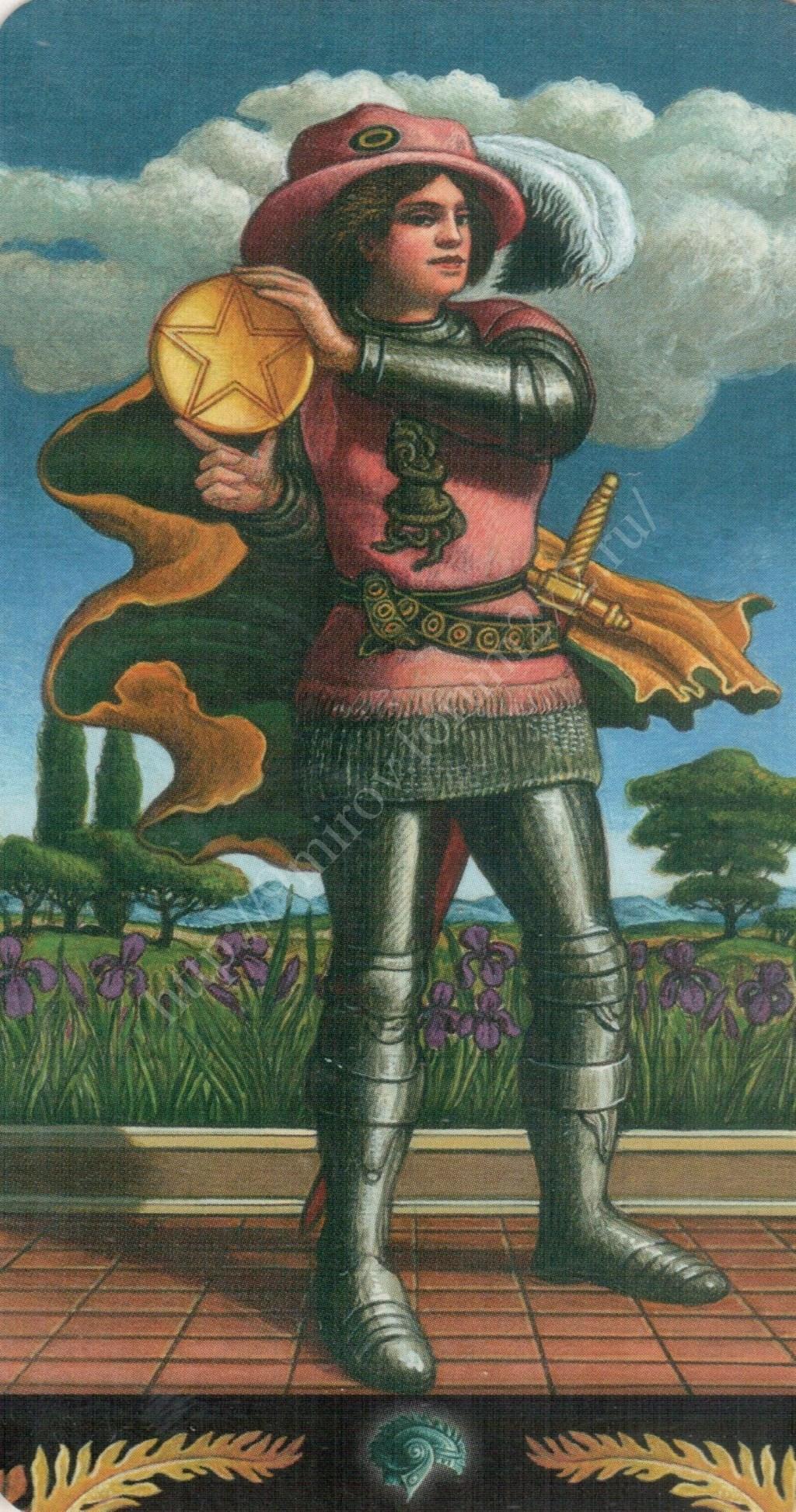Таро Прерафаэлитов (Pre-Raphaelite Tarot) Галерея Water412
