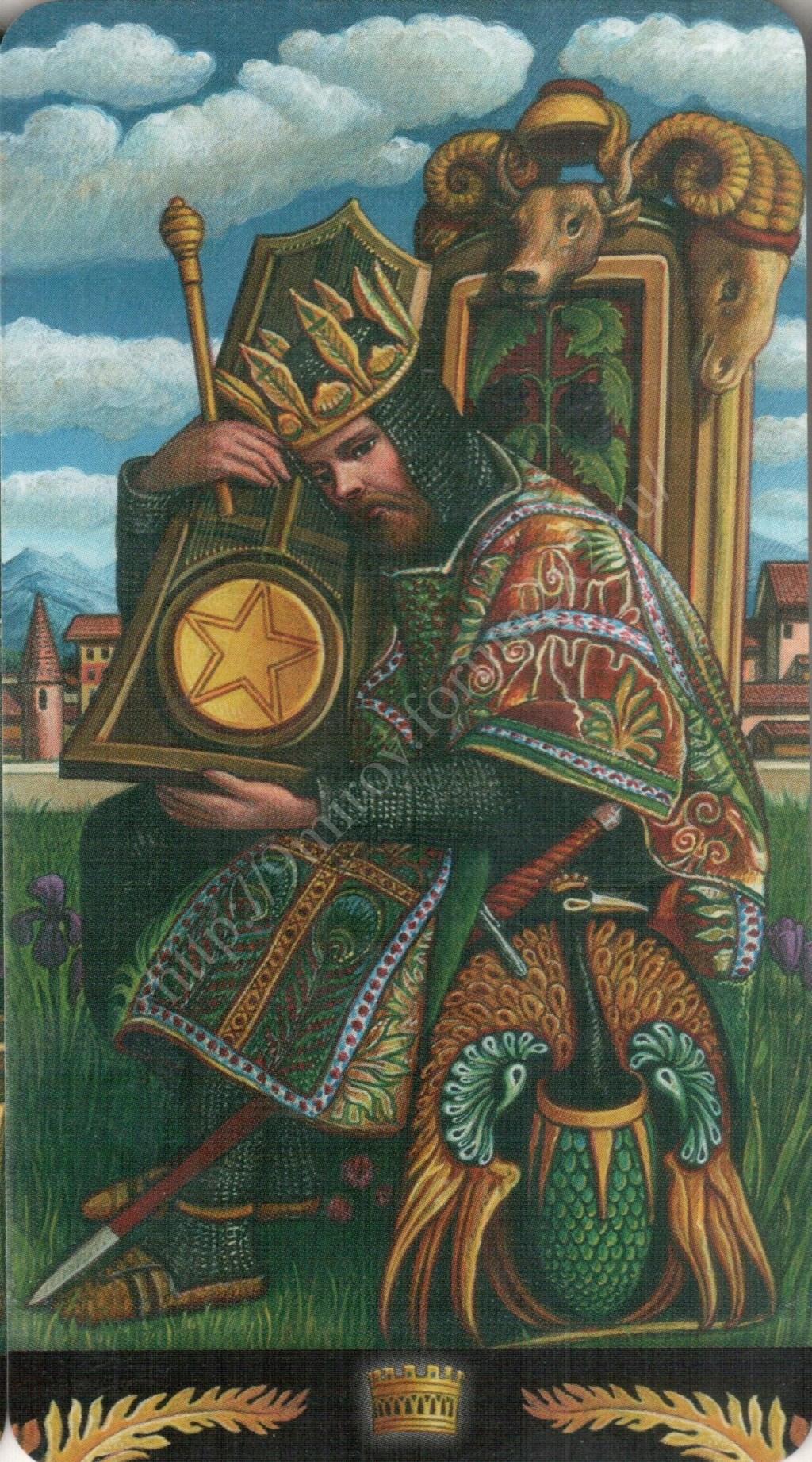 Таро Прерафаэлитов (Pre-Raphaelite Tarot) Галерея Water414