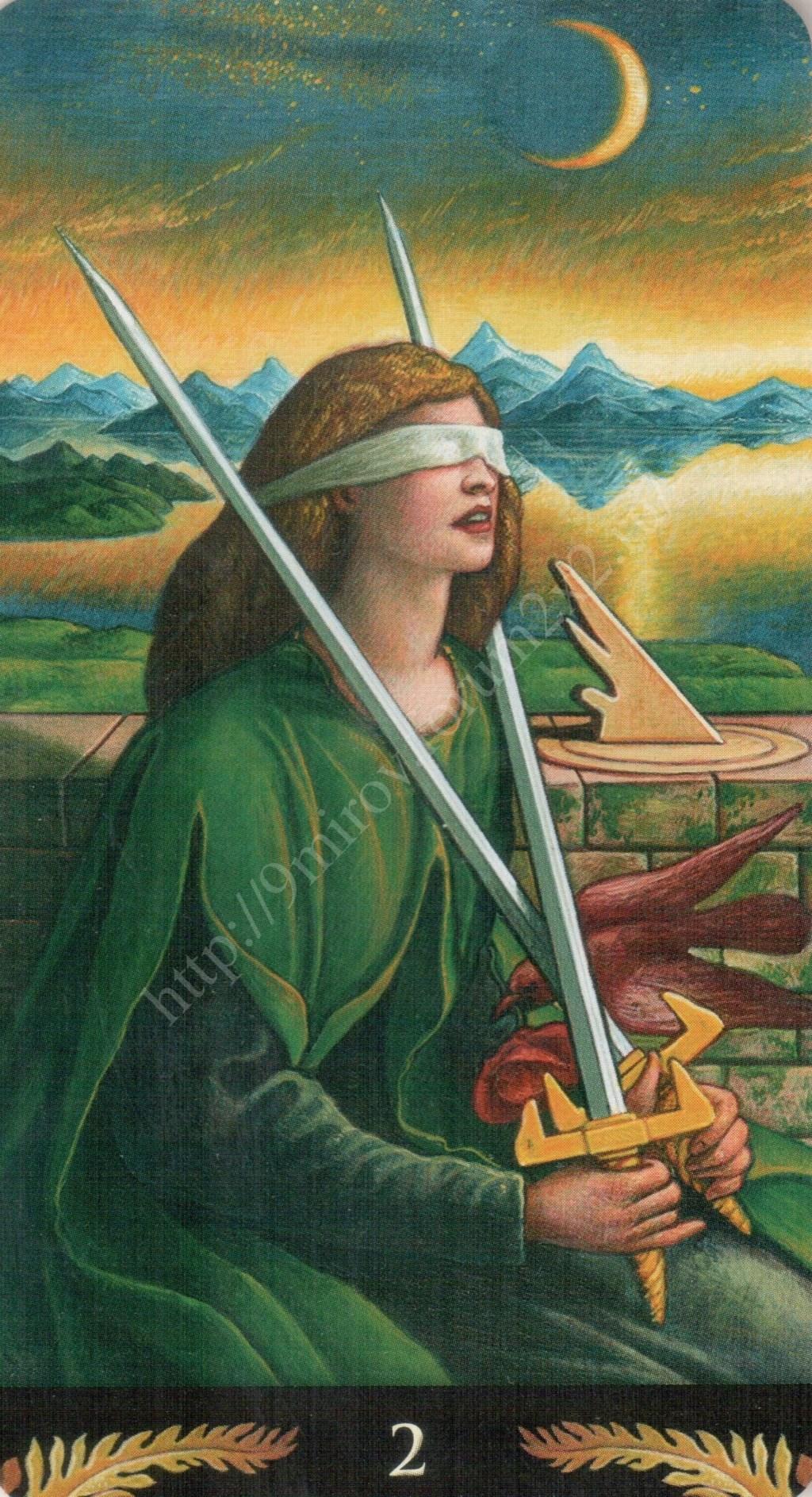 Таро Прерафаэлитов (Pre-Raphaelite Tarot) Галерея Water415
