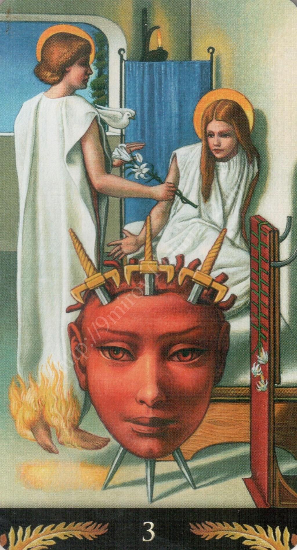 Таро Прерафаэлитов (Pre-Raphaelite Tarot) Галерея Water416