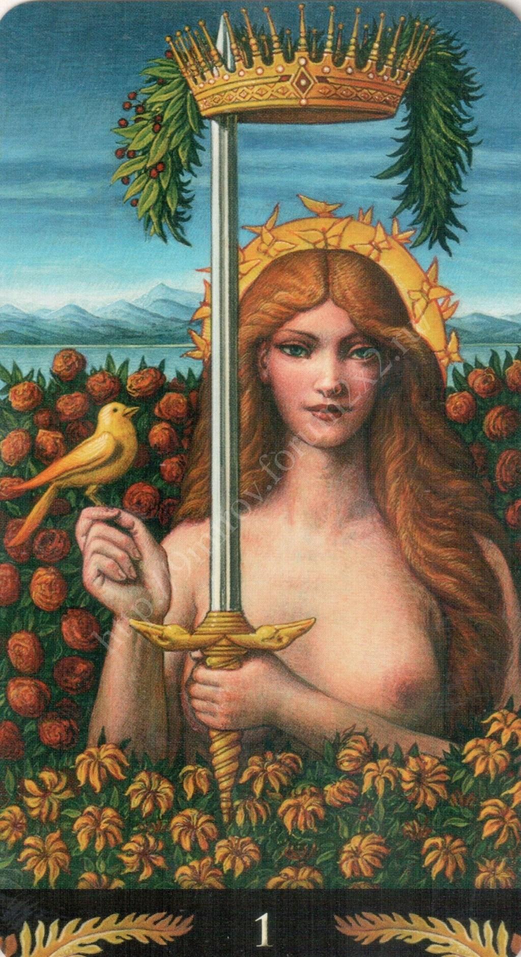 Таро Прерафаэлитов (Pre-Raphaelite Tarot) Галерея Water417
