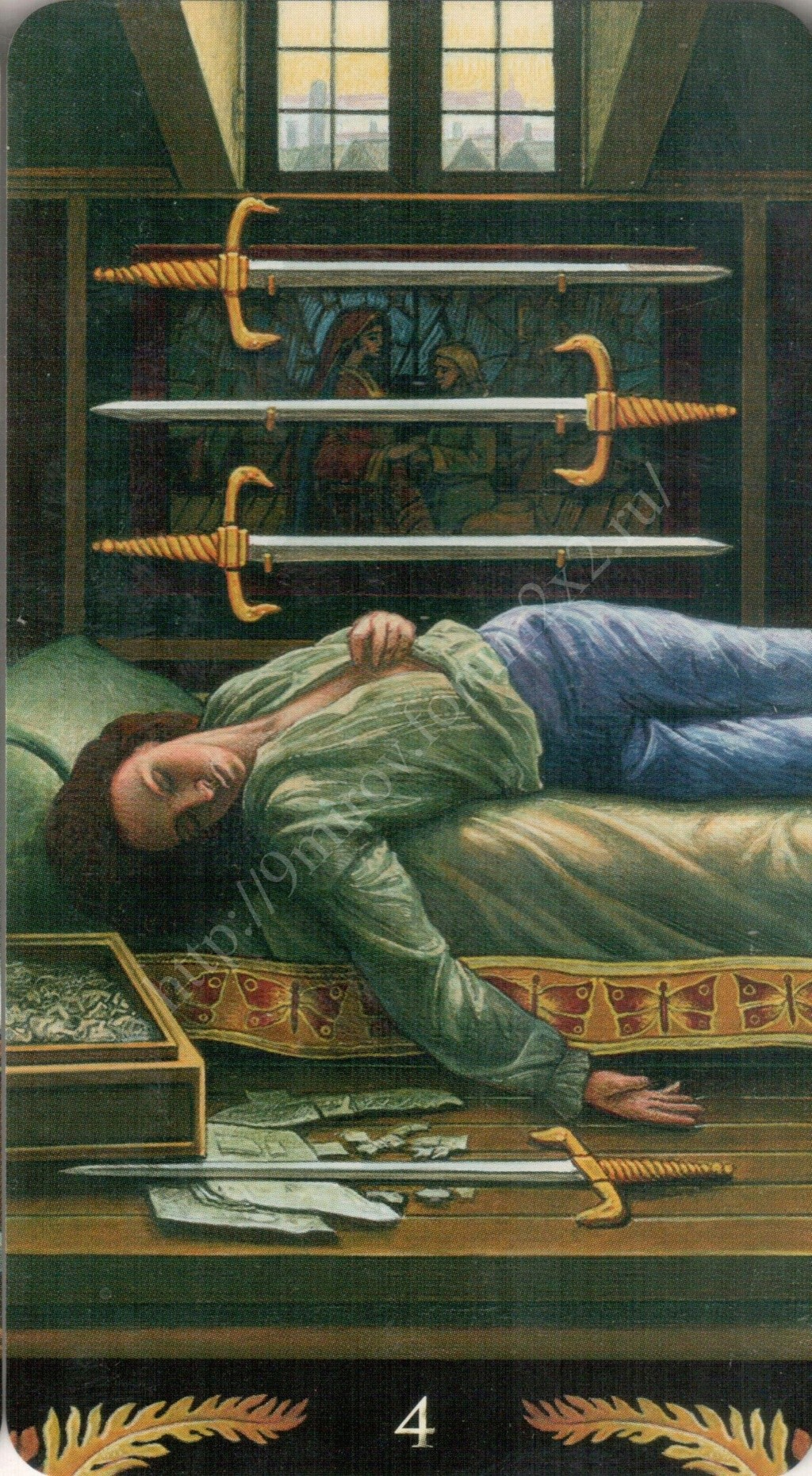 Таро Прерафаэлитов (Pre-Raphaelite Tarot) Галерея Water418