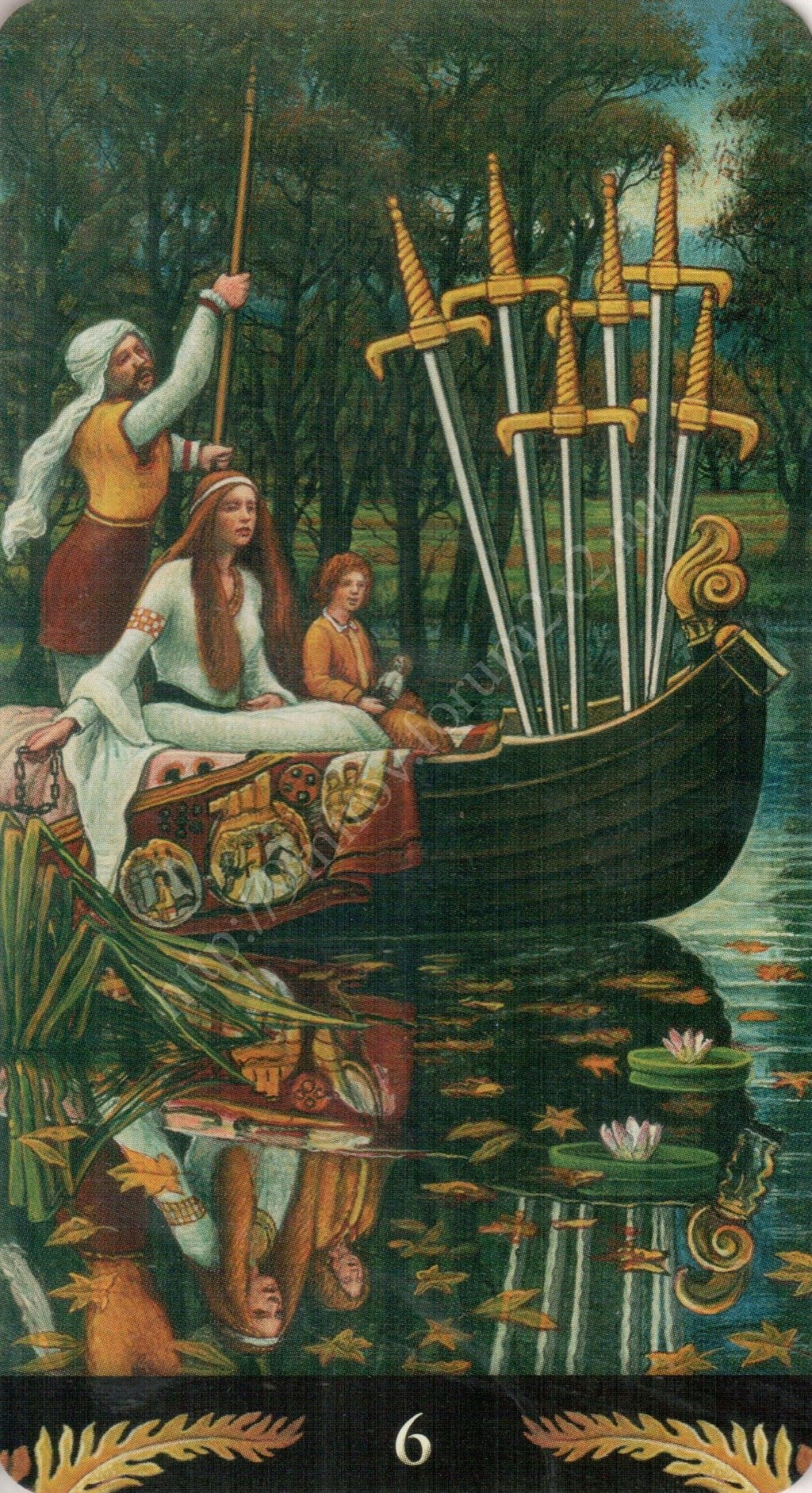 Таро Прерафаэлитов (Pre-Raphaelite Tarot) Галерея Water419