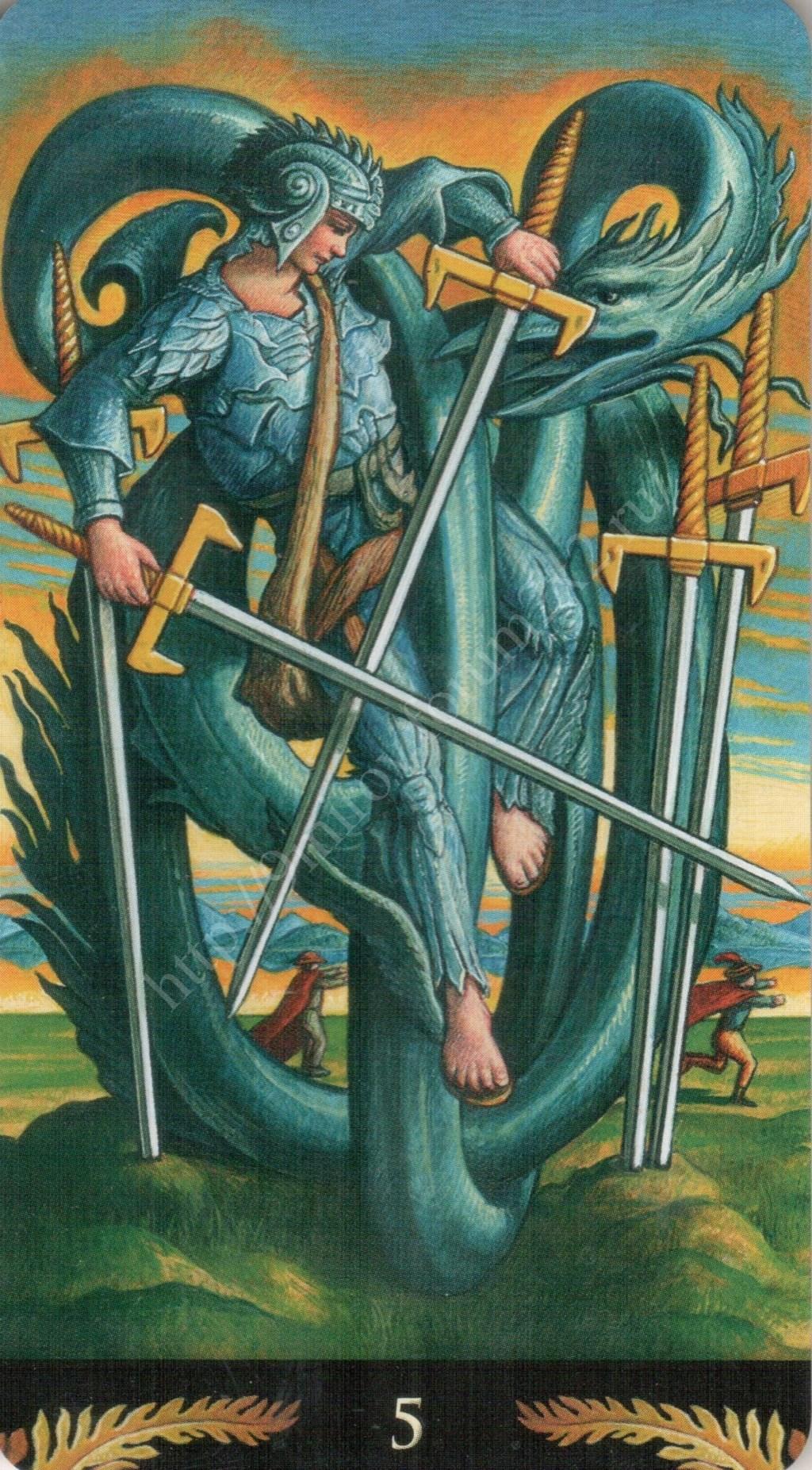 Таро Прерафаэлитов (Pre-Raphaelite Tarot) Галерея Water420