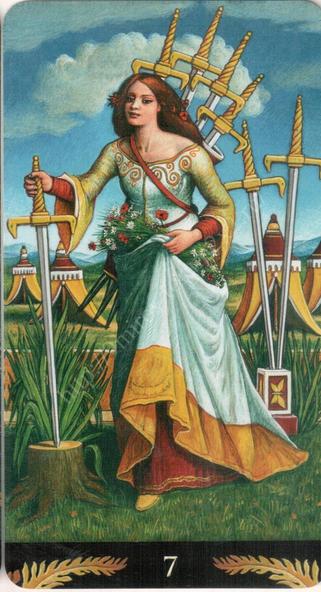 Таро Прерафаэлитов (Pre-Raphaelite Tarot) Галерея Water421