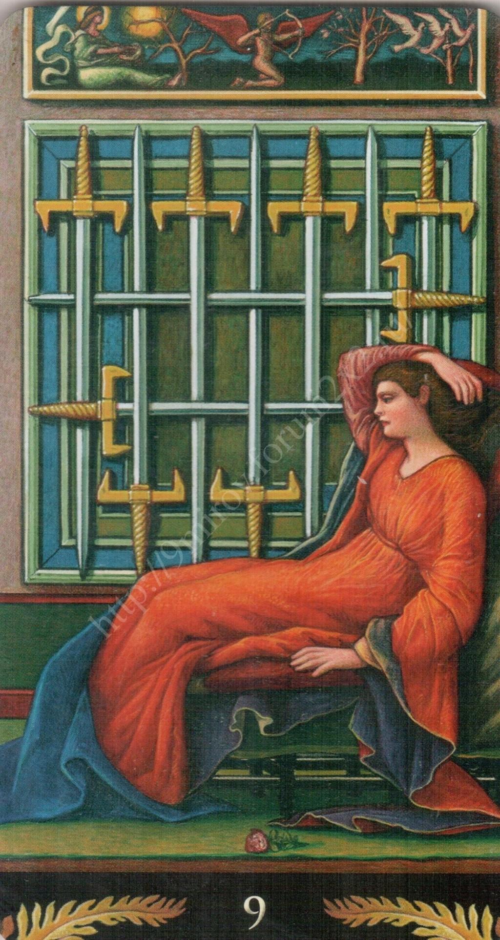 Таро Прерафаэлитов (Pre-Raphaelite Tarot) Галерея Water423