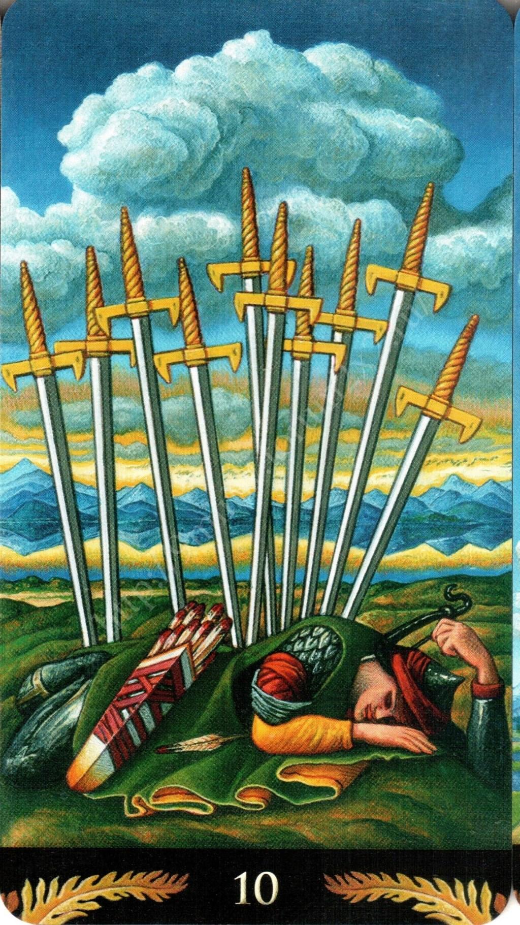 Таро Прерафаэлитов (Pre-Raphaelite Tarot) Галерея Water424
