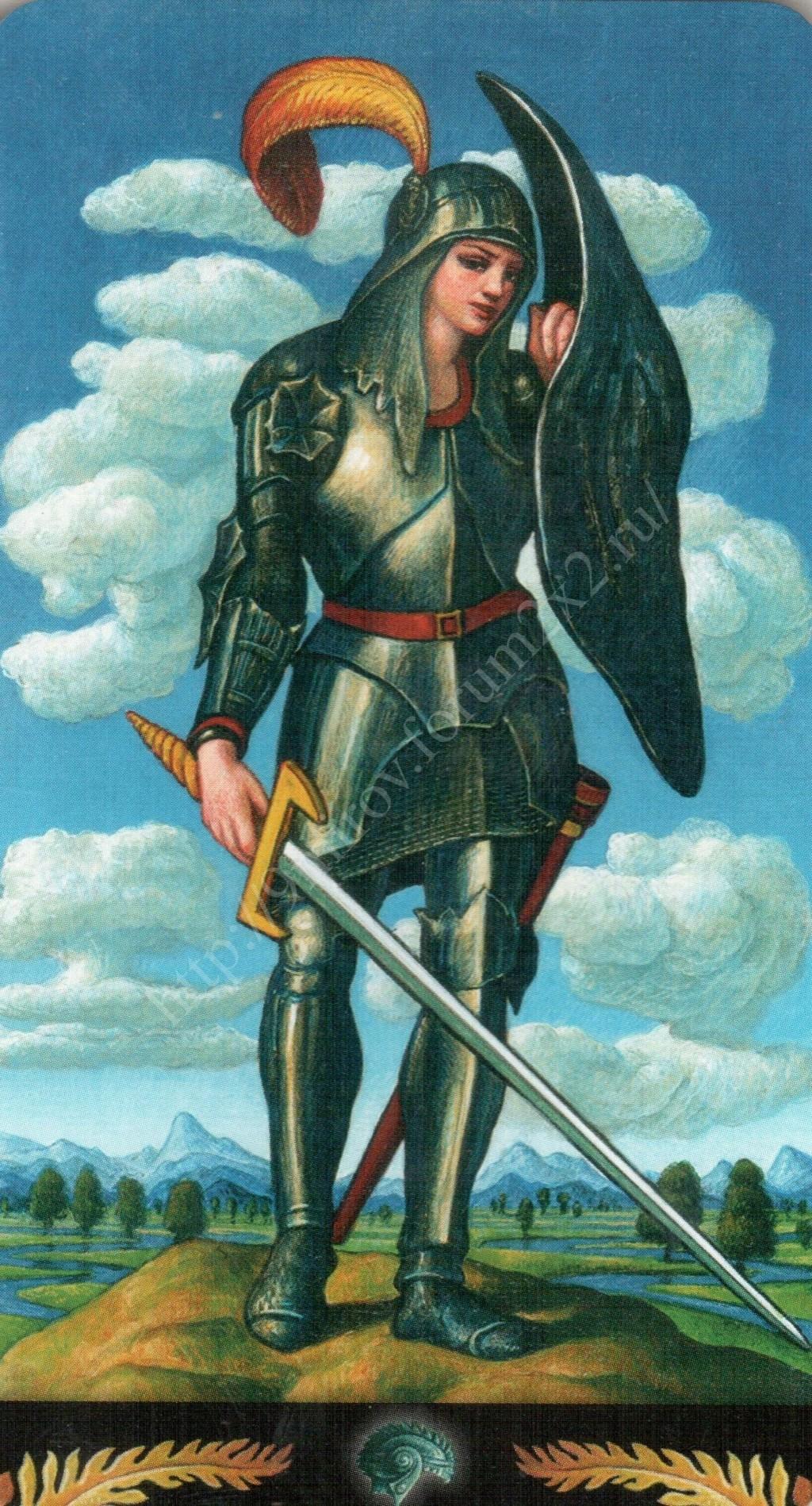 Таро Прерафаэлитов (Pre-Raphaelite Tarot) Галерея Water425