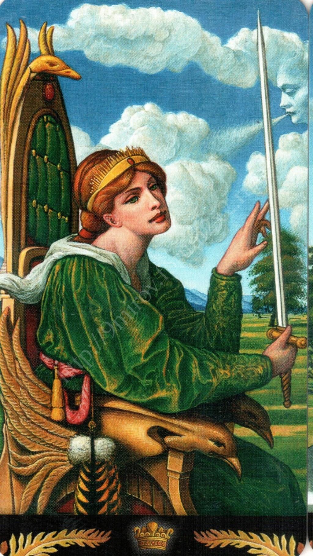 Таро Прерафаэлитов (Pre-Raphaelite Tarot) Галерея Water428