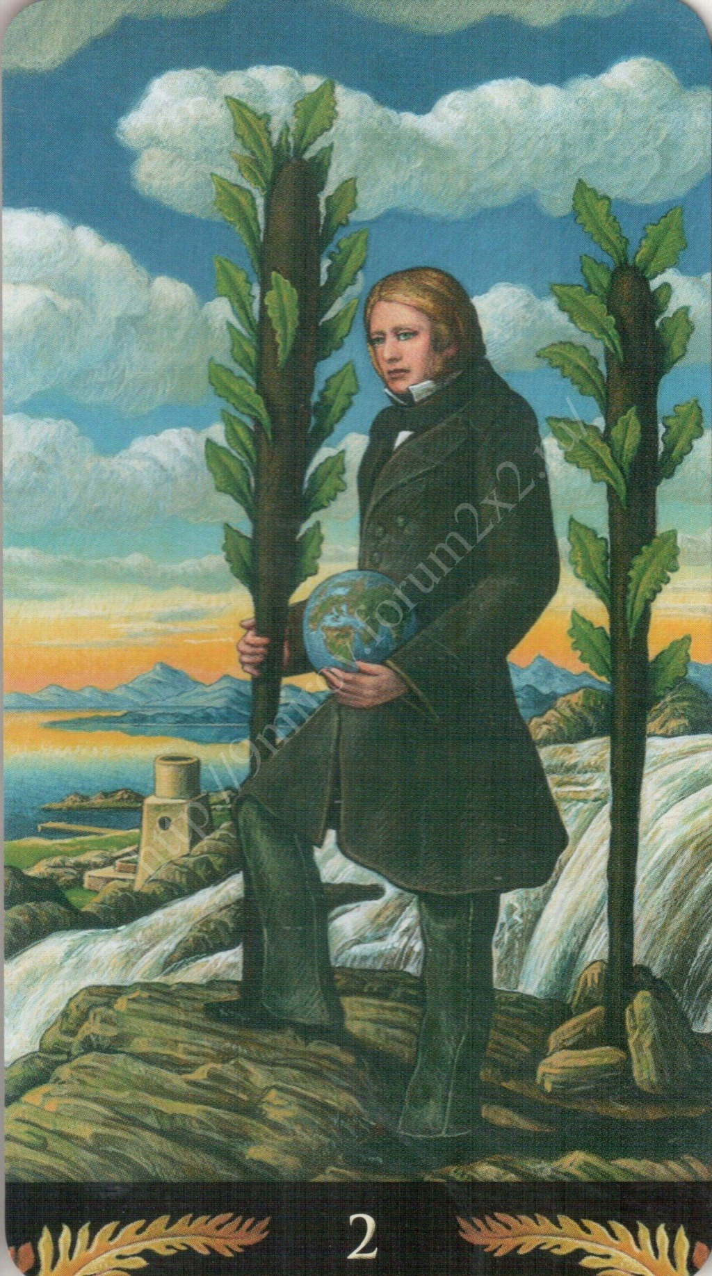Таро Прерафаэлитов (Pre-Raphaelite Tarot) Галерея Water430