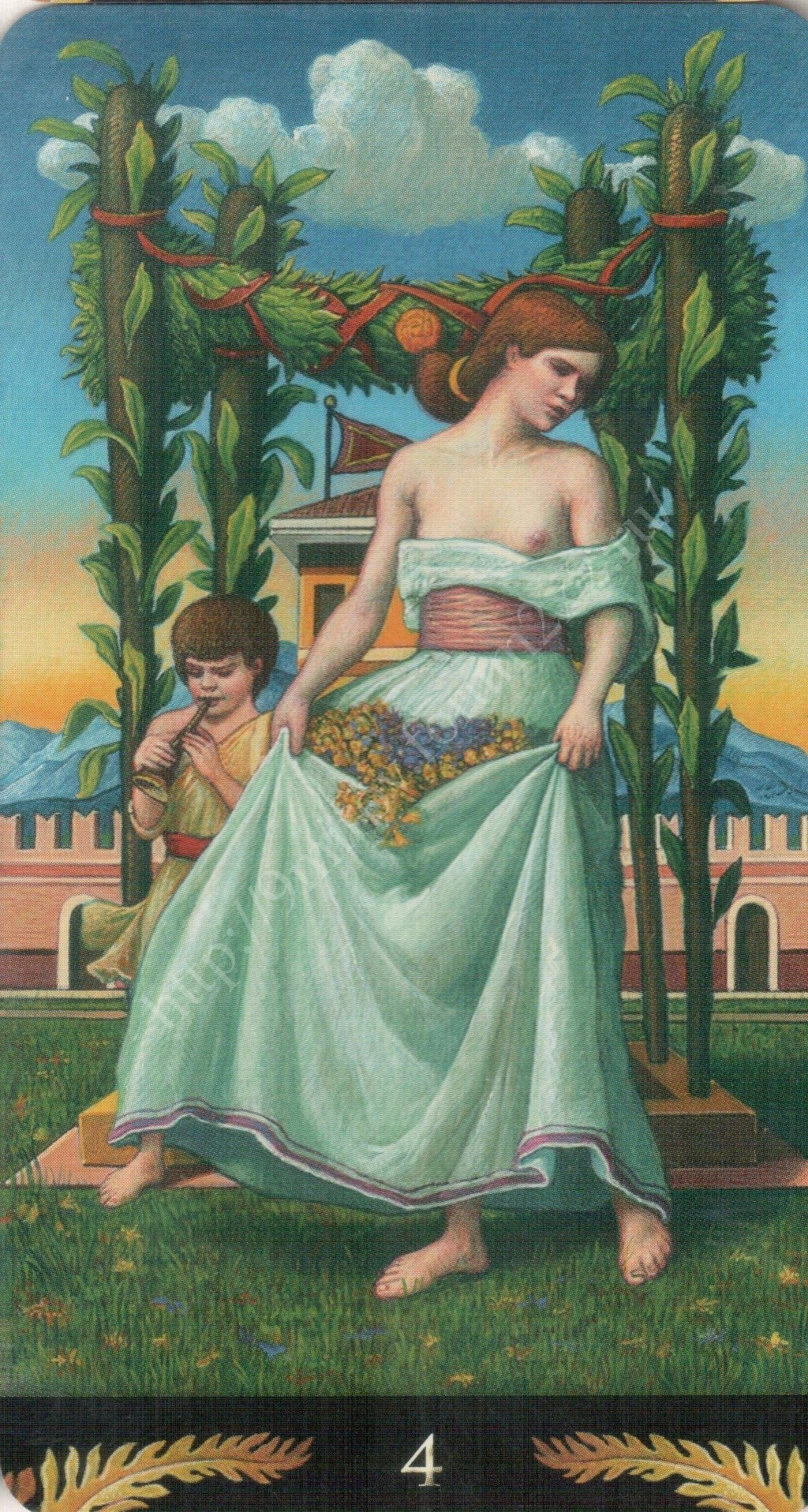 Таро Прерафаэлитов (Pre-Raphaelite Tarot) Галерея Water433